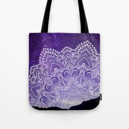 Starry Sky Mandala Tote Bag