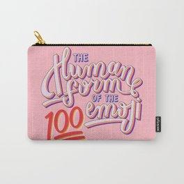 100 Emoji Carry-All Pouch