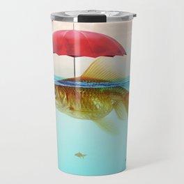 Under Cover Goldfish Travel Mug