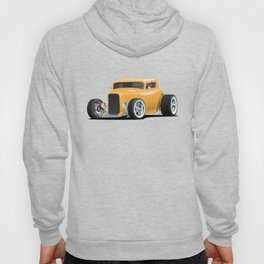 Classic American 32 Hotrod Car Illustration Hoody