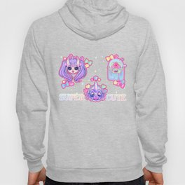 SUPER CUTE MONSTER GALS Hoody
