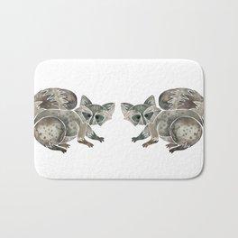 Raccoon – Warm Grey Palette Bath Mat
