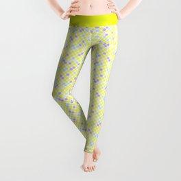 Fun summer Yellow pattern . Leggings