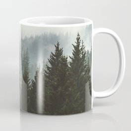 Forest Fog Mountain IV - Wanderlust Nature Photography Coffee Mug