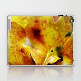 Autumn leaves print. Laptop & iPad Skin