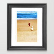 YES!? Framed Art Print