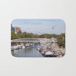 Canal Saint Martin - Paris Bath Mat