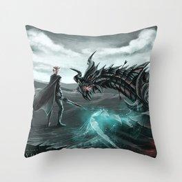 I am Alduin Throw Pillow