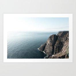 Ocean norway Art Print