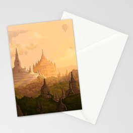 Bagan Myanmar Stationery Cards
