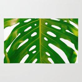 Guatemala - Monstera Deliciosa Leaf Rug