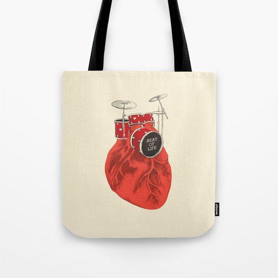 Beat of Life Tote Bag