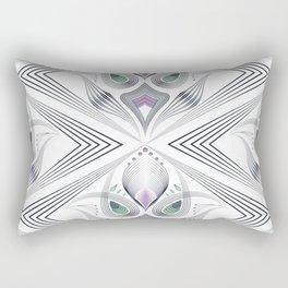 Art Deco 36 . Mystery 2. Rectangular Pillow