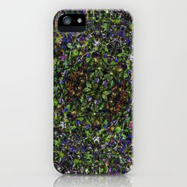 Bee in Flowers iPhone Case