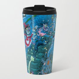 Witches in the basement Travel Mug