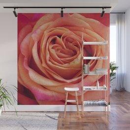 A Summer Bouquet 12 - orange rose Wall Mural