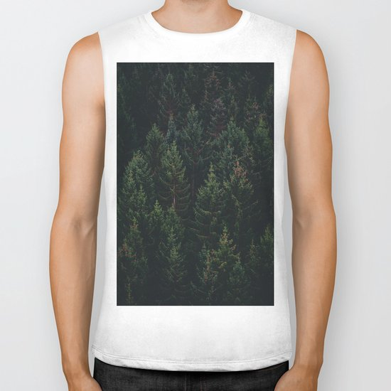 Forest of Pines Biker Tank