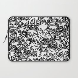 All The Girls in Black Laptop Sleeve