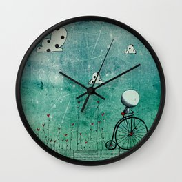 In the mood for love Wall Clock