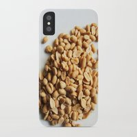 peanuts iPhone & iPod Cases featuring Salted Peanuts by Steve P Outram