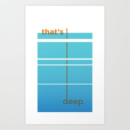 Dude, woah... Art Print