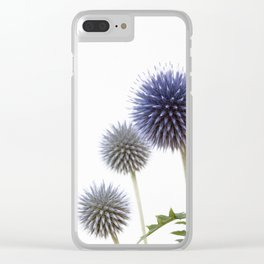 Echinops - Globe Thistles #1 #decor #art #society6 Clear iPhone Case