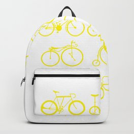 Bicycle history time unicycle art gift Backpack