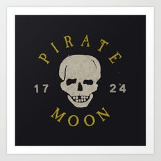Pirate Moon Art Print