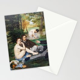 Edouard Manet - The Luncheon on the Grass Stationery Cards