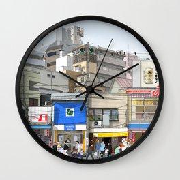 Tokyo Moods Wall Clock