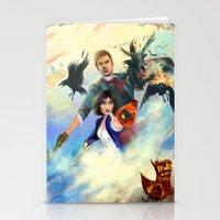 bioshock infinite Stationery Cards featuring Bioshock Infinite by Alba Palacio