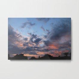 Arizona Sunset No.1 Metal Print