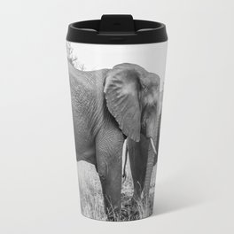 Grazing Elephants Travel Mug