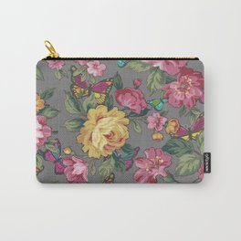 june butterflies & roses Carry-All Pouch