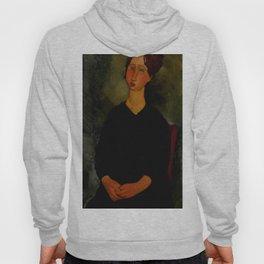 """Amedeo Modigliani """"Little Servant Girl"""" Hoody"""