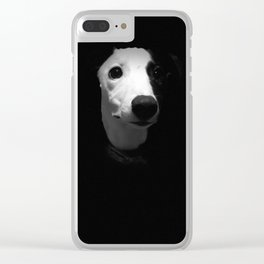 Dinner?.. Dog Photographer of the Year 2018 Young Pup Photographer 2nd Place Clear iPhone Case