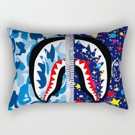 Bape Shark and Billionaire Boys Club Rectangular Pillow