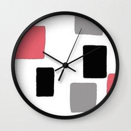SQUARED I Wall Clock