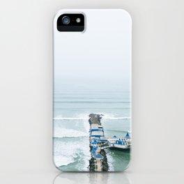 View off the Coast of Miraflores, Lima, Peru iPhone Case