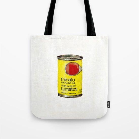 No Name Brand Tomato Soup Tote Bag