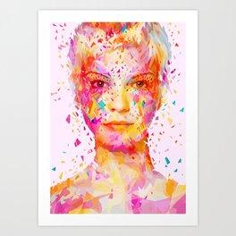 Magenta Art Print