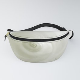 Beautiful White Shell #society #decor #buyart Fanny Pack