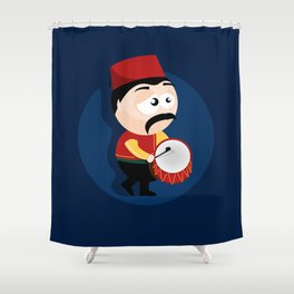Ramadan Drummer Shower Curtain