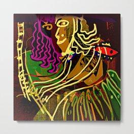 The Piano Girl / Memories / Follies Collection Metal Print
