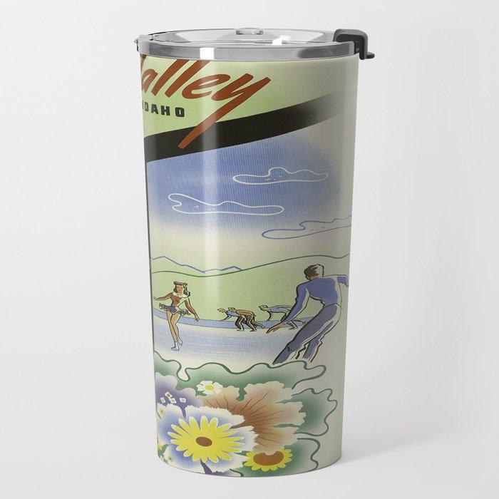 Vintage poster - Sun Valley, Idaho Travel Mug