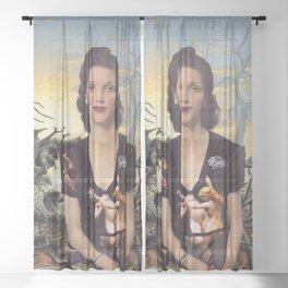 Weary World Sheer Curtain