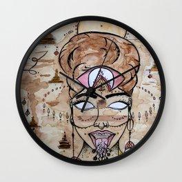 Earth Warrior Kali Wall Clock