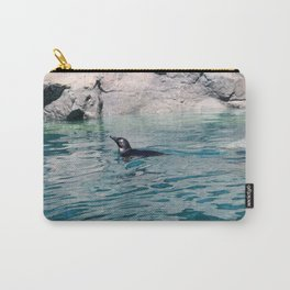 Penguin Swimming Carry-All Pouch