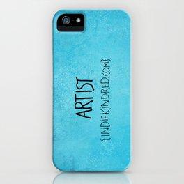Artist iPhone Case