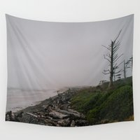 oregon Wall Tapestries featuring Oregon Coast: II // Oregon by Corrie Mick
